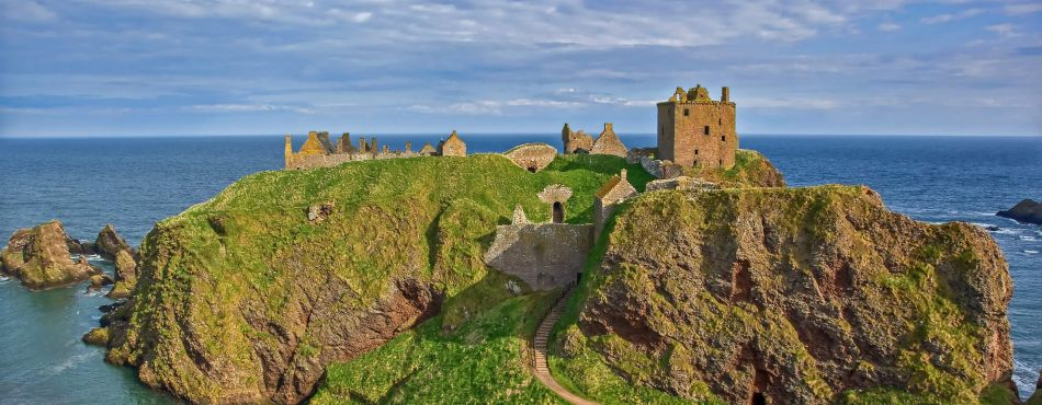 Dunnotar Castle Near Stonehaven