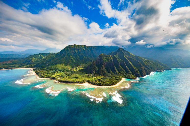 Beautiful Na Pali Coast in Kauai