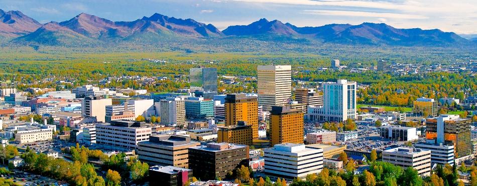 Courtesy of Visit Anchorage - Frank Flavin - Anchorage Skyline