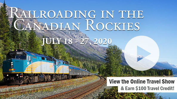 Railroading in the Canadian Rockies-WXII TV