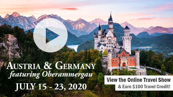 Austria & Germany Featuring Oberammergau-WTOV TV