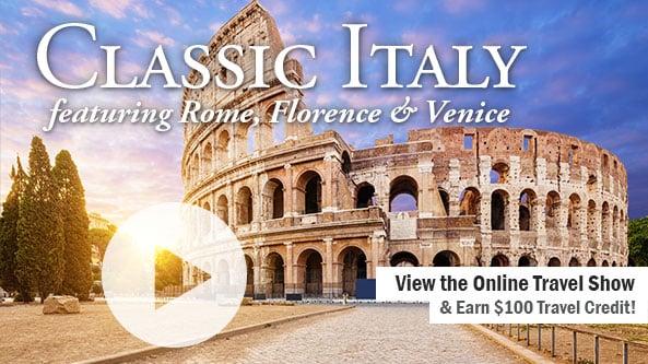 Classic Italy-Rome, Florence & Venice-WABI TV 1