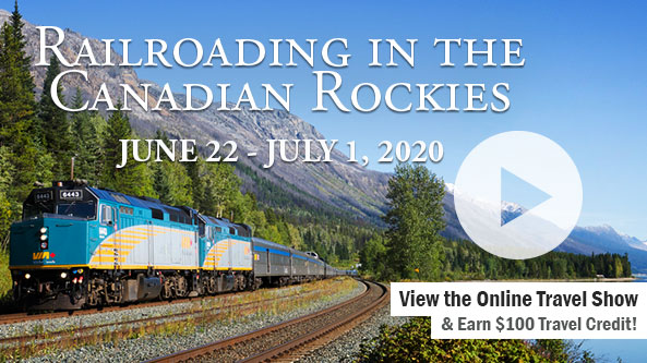 Railroading in the Canadian Rockies-KFYR TV