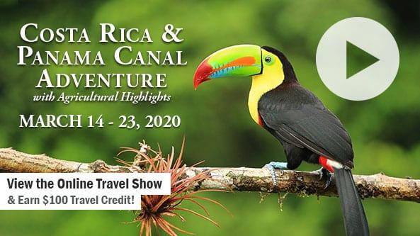 Costa Rica & Panama Canal with Ag Highlights-WAXX Radio 1