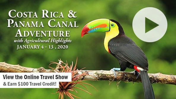 Costa Rica & Panama Canal with Ag Highlights-WOZN Radio 1