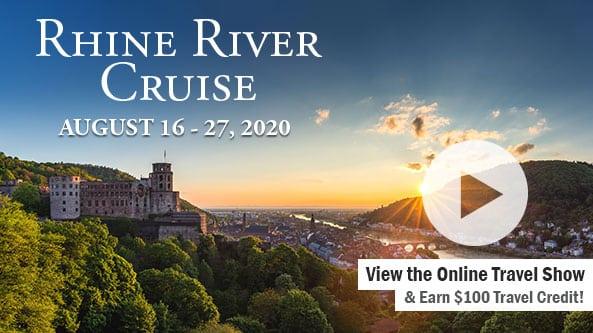 Rhine River Cruise - Switzerland to Amsterdam-WBAP Radio