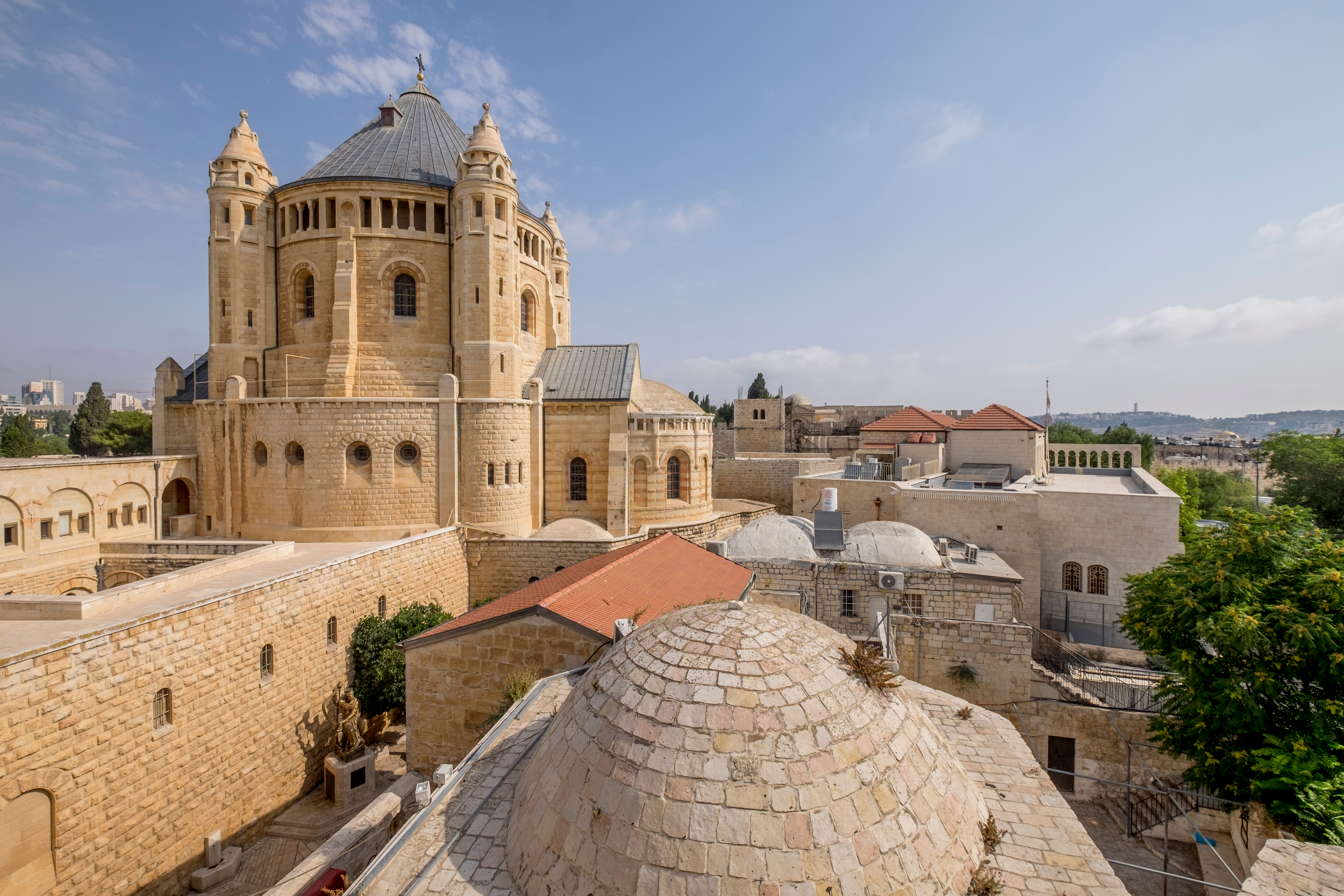 David's Tomb and Abbey of the Dormition, Jerusalem