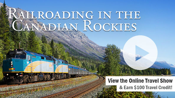 Railroading in the Canadian Rockies-WDAY TV 1