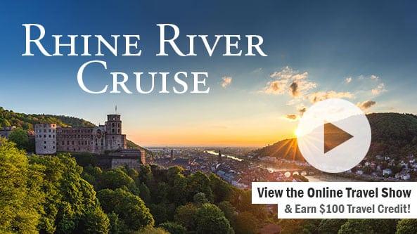 Rhine River Cruise - Switzerland to Amsterdam-WBAP Radio 3