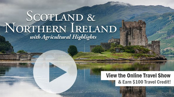 Scotland & Northern Ireland with Agricultural Highlights-WOZN Radio 1