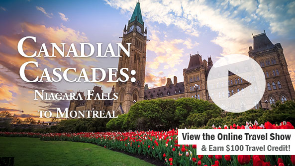 Canadian Cascades: Niagara Falls to Montreal-KQTV 2